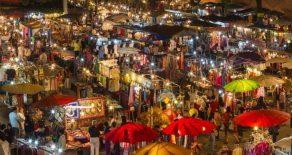 Northern Thailand Night Market